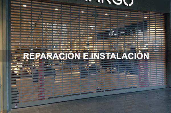 persianas locales comerciales - Instalación y Reparación de Persianas Barcelona y Sabadell